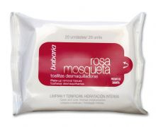 Babaria Rosehip Oil Make-up Remover Tissues